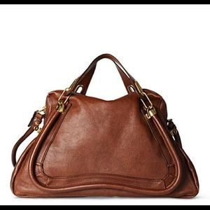 "Chloe ""Paraty"" large bag in Nutmeg"